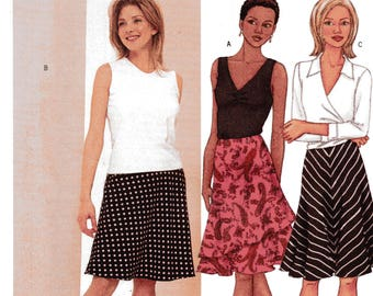 Butterick Fast & Easy Pattern 3061 DOUBLE LAYERED SKIRT  Misses Sizes 18 20 22
