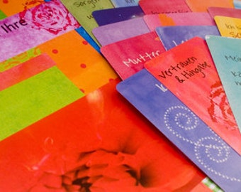Inspiration Cards for pregnancy