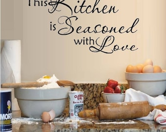 This Kitchen is Seasoned with Love