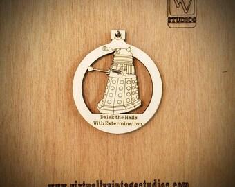 Dalek Cutout Ornament