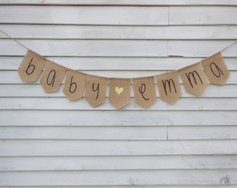 More Colors. Custom Baby Shower Banner ...