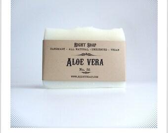 Aloe Soap Acne Soap Vegan All Natural Soaps Facial Unscented Soap  Homemade Soap Oily Skin Soap Artisan