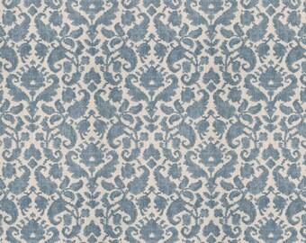 Custom Drapery, Custom Curtains, Ethnic Paisley Print, Single Pleat, Made To Order, *Loire*
