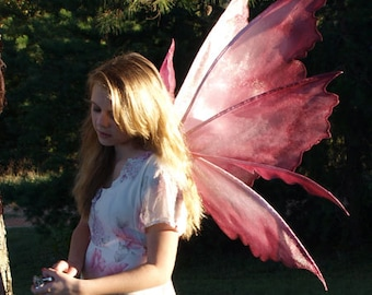 PATTERN and tutorial for fairy wings Rhea Large