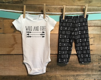 Wild and Free : top + leggings