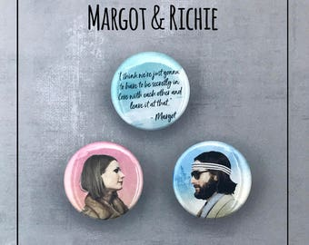 The Royal Tenenbaums - Margot & Richie Button Collection