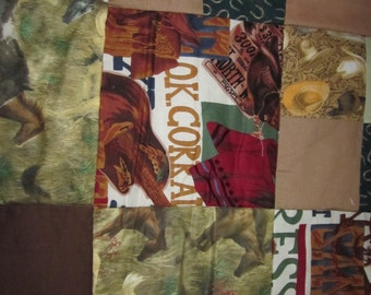 REDUCED Western childs quilt