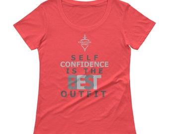 EvolutionHeart Ladies' Scoopneck T-Shirt