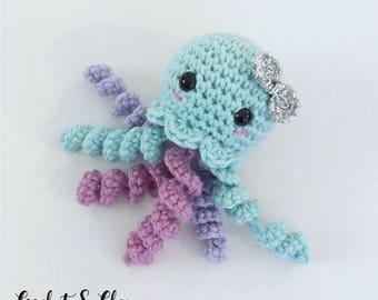 Jellyfish Keychain ~ Amigurumi ~ Crochet Jellyfish