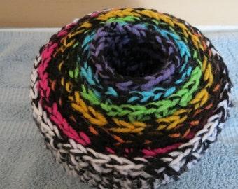 Set of 7 Crochet Nesting Baskets