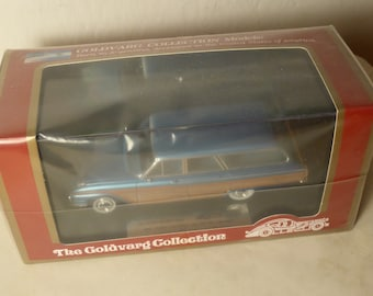 Ford Country Squire 1961 blue metallic Goldvarg Collection GC-003B limited edition 1:43