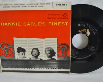 Frankie Carle's Finest Vintage Record 45 RPM Album EPB-1153 (2 Record Set)
