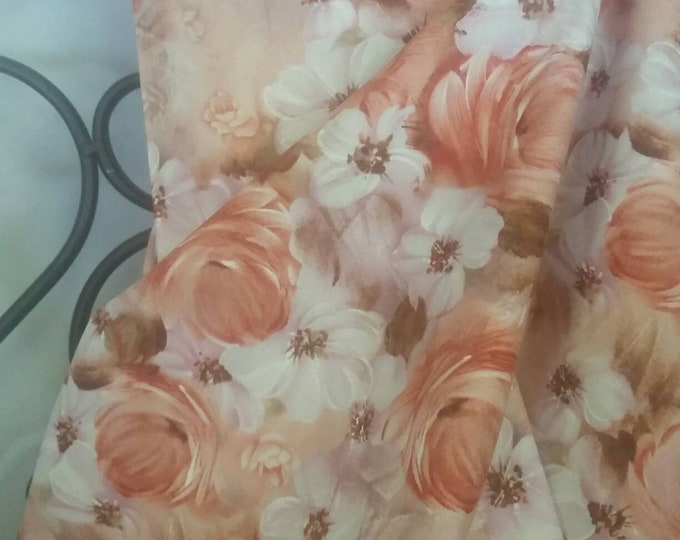 Fabri-QuiltTulle & Petal's Floral Collage Quilting, Sewing, and Decorating Fabric