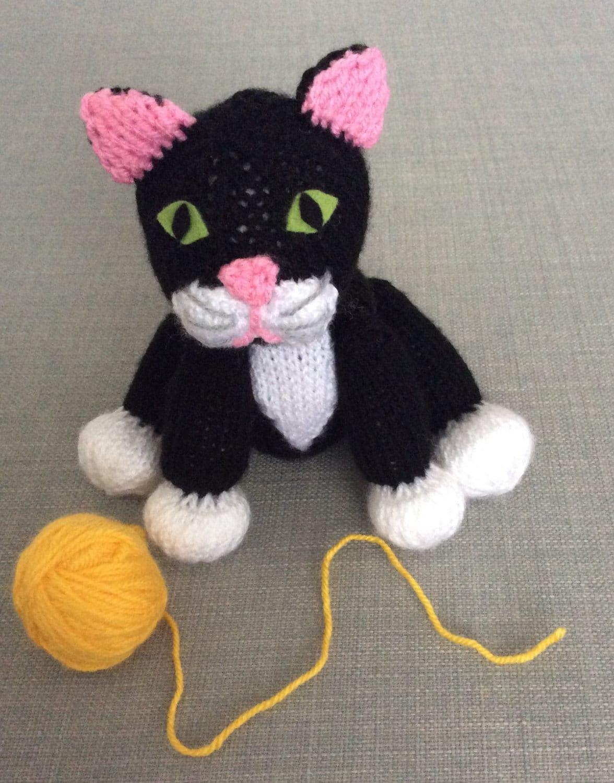 Funky Kitten Knitting Pattern Ideas - Sewing Pattern for Wedding ...