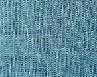 "Organic Cotton/Linen Chambray-56""-Blue"