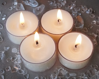 White Light Tea Lights
