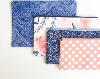 Diaper Bag Organizer Pouches, Zipper Pouch, Baby Shower Gift for Mom, New Mom Gift