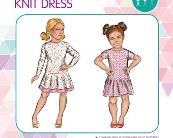 PATTERN Jaunty Dress - PDF Sewing Pattern - Instant Download - Tadah Patterns
