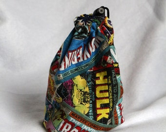 Reversible Marvel Dice Bag With Surprise D20!