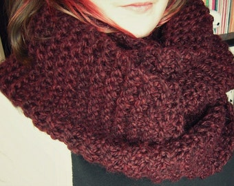 Thick Wool Infinity Scarves