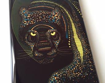 Jaguar Tiger phone case / Illustrated Animal phone case / iPhone 5 / iPhone SE / SALE