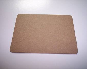 ATC Blank Die Cut From Chipboard Set of 12