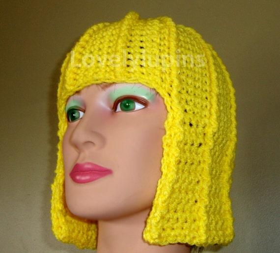 Hair Hat Wig Hat Crochet Pattern Costume Cute Stylish