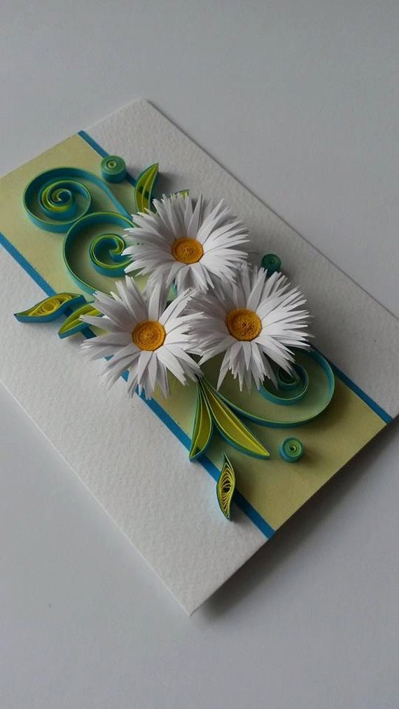 Mothers Day Card Quilling Card Mothers Day