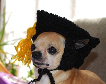 Graduation Cap for Dog or Cat