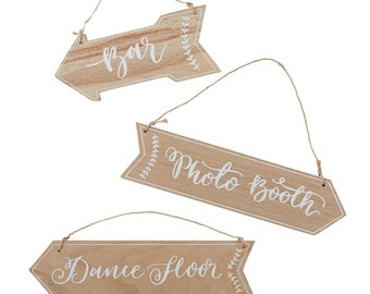 Wedding Signs | Wooden Signs | Dance Floor Sign | Photo Booth Sign | Bar Sign | Wedding Decorations | Wedding Venue Signs | Wedding Decor