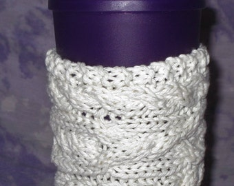 Coffee Cup Sweater; Coffee Cup Cozy; Cup Cozy; Tea Cup Cozy