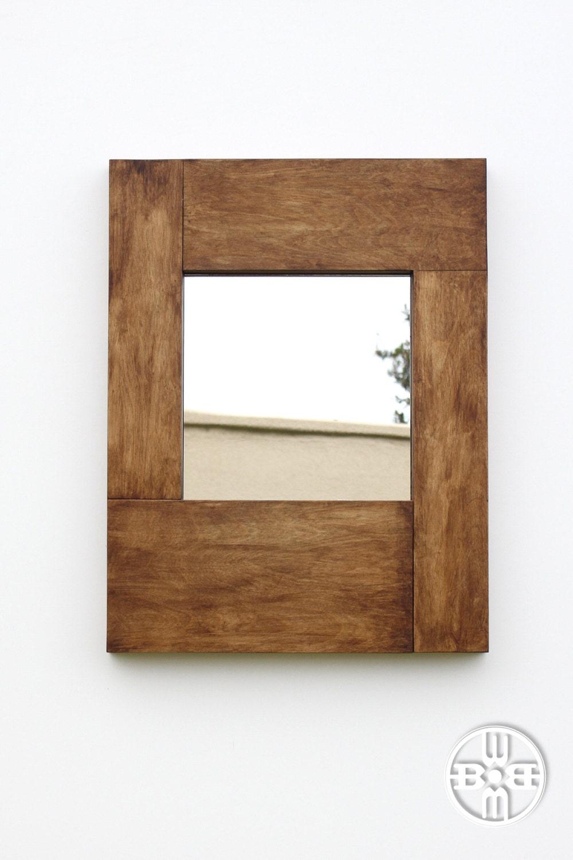 Mirror with Hidden Storage
