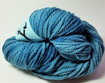 100% Merino Yarn - Wedgewood Blue