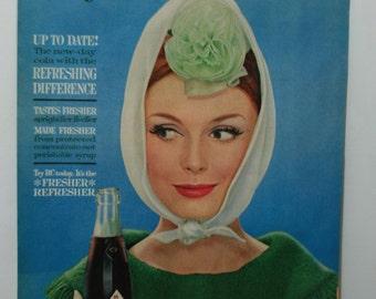 Vintage Royal Crown cola ad 1960s