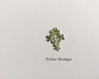 1 flower bouquet in 925 Sterling Silver Pendant/charm