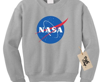 NASA Meatball Sweatshirt in Pink