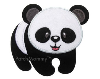 Panda Iron-On Patch Applique - Kids / Baby
