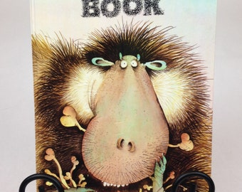 1985 The Hairy Book - Hardcover Children's Book - Written & Illustrated by Babette Cole -