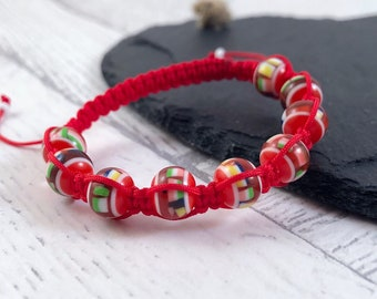 Kids Confetti Bracelet, Kids Beaded Bracelet, Confetti Bracelet, Kids Bracelet, Kids Jewellery, Macramé Bracelet, Kids Fashion Jewellery,