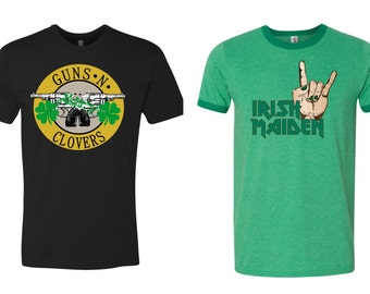Irish Rock funny st patricks day shirt