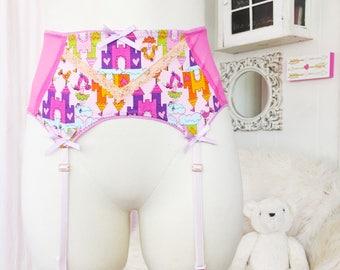 READY TO SHIP  Princess Dreams garter belt lingerie DDlg