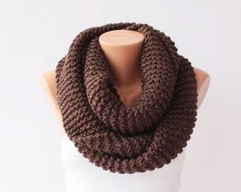 Chunky crochet knitting scarf, infinity loop crochet scarf , chunky crochet scarf ,infinity scarf, infinity chunky , crochet cowl chunky