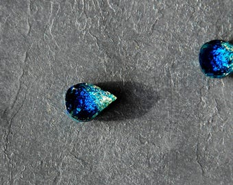 Drops of the ocean - Stud earrings (Surgical stainless steel : SUS316)