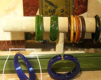 BaKELIte COBALT BluE BAnGle BracELET ONLY