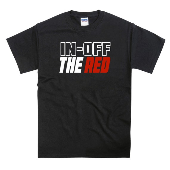 In Off The Red Snooker Billiards Pool Tshirt