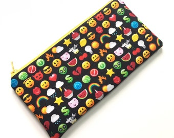 Zipper Pouch Pencil Case - LOL Emojis