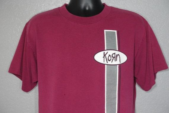 1996 Korn - Follow the leader Era - Double Sided Concert Vintage T-Shirt