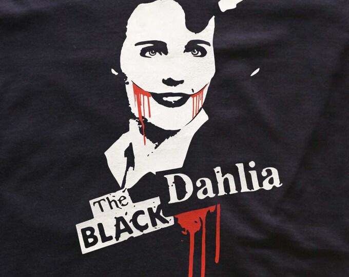 Black Dahlia t-shirt- blood-murder-horror