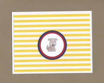 Brown Dog Sympathy Card - Pet Sympathy Cards, Beloved Family Friend Sympathy Cards, Pet Illness Cards, Pet Condolence Cards, Dog Lover Cards