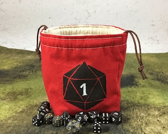 The Black Die Dice Bag